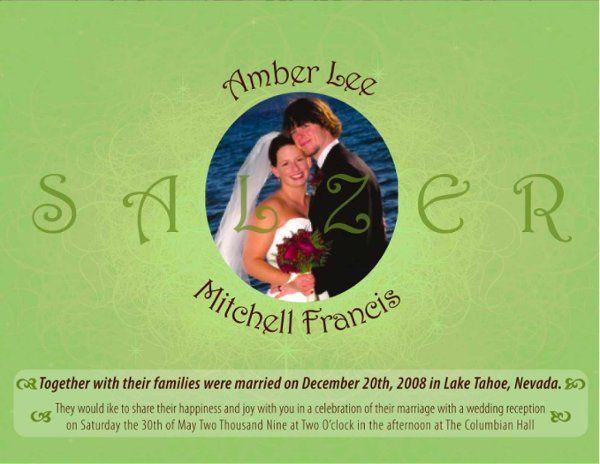 Tmx 1259639518927 SalzerInviteFinal Shelton wedding invitation