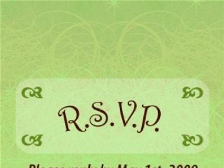 Tmx 1259639542945 SalzerReceptionRSVPCardFinal Shelton wedding invitation