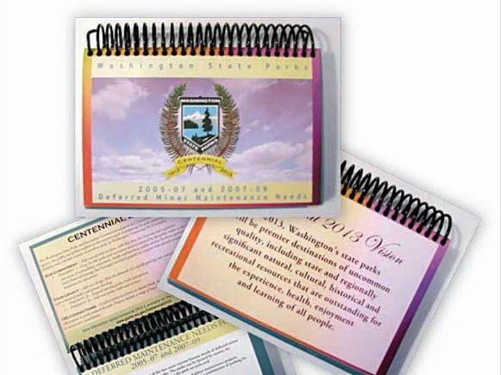Tmx 1259640457174 WAStateParksMaintBookSample Shelton wedding invitation