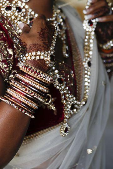 Bride's bangles