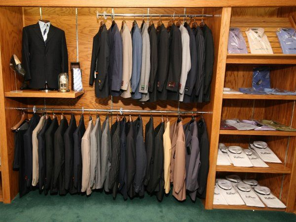 MENS SUITS FULL TAILORING DEPARTMENT ON PREMISES