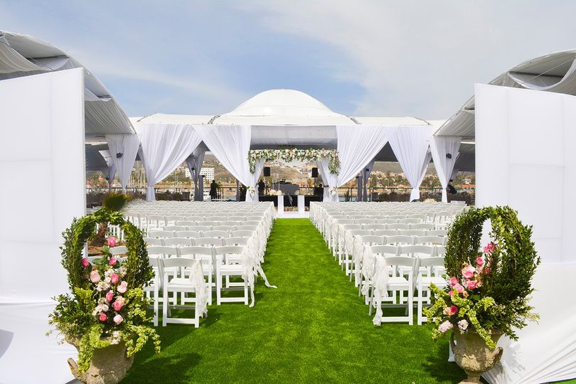 Wedding ceremony at La Isla