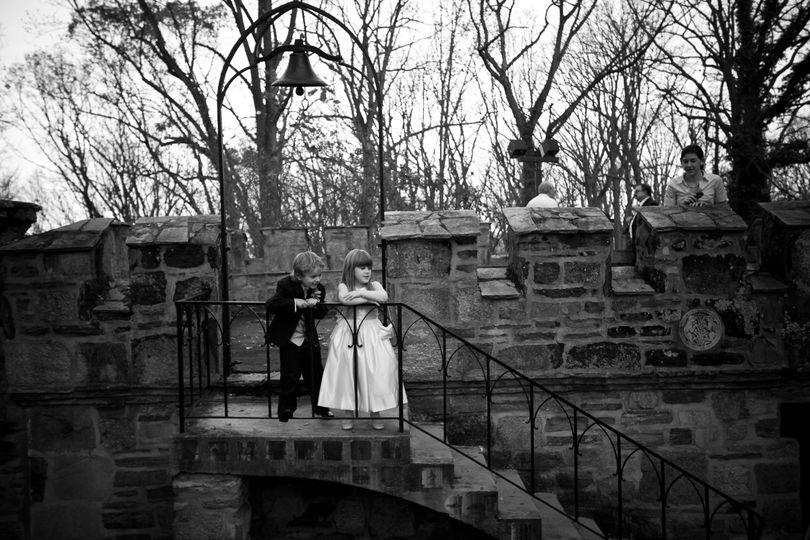 Junior bridal attendants