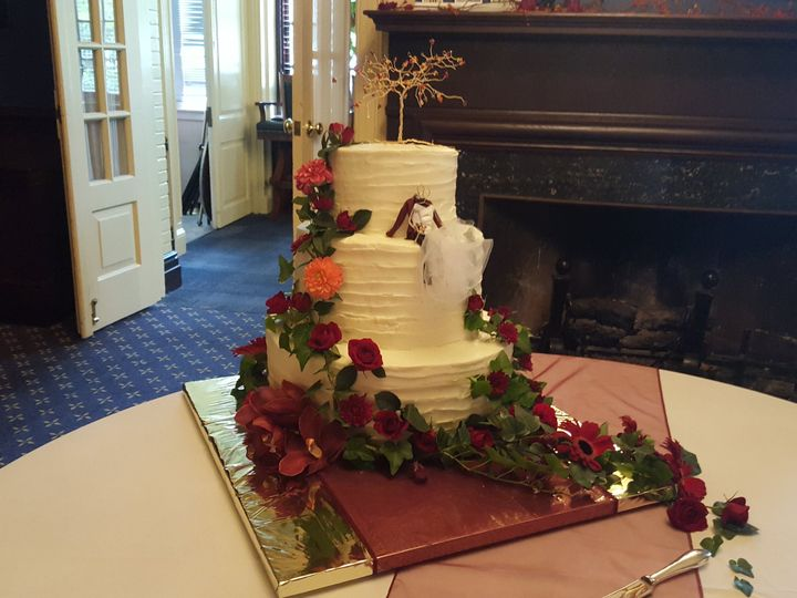 Tmx Officers Club Emily Casto Cake 51 31077 V2 Gambrills, MD wedding florist
