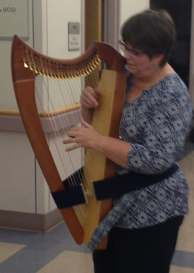 Harp therapy at the hospital
