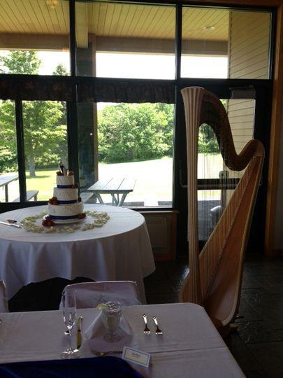 Deette bunn, wedding reception