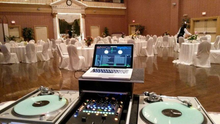 DJ setting