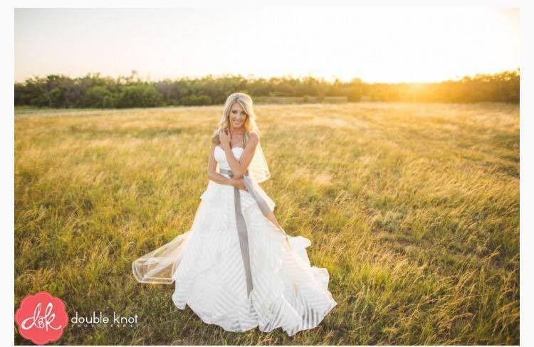 Bride in the field