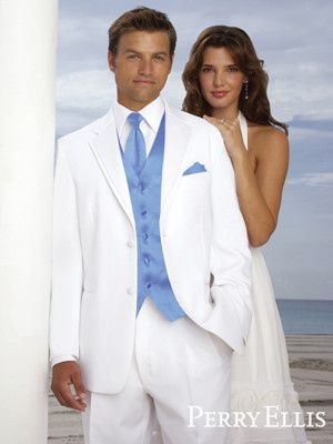 You are a gentleman, you prefer the lighter side of life, and this tuxedo is perfect for you. Or...