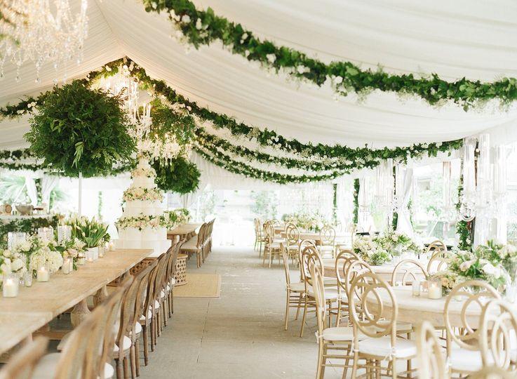 Hoopla Wedding Decor