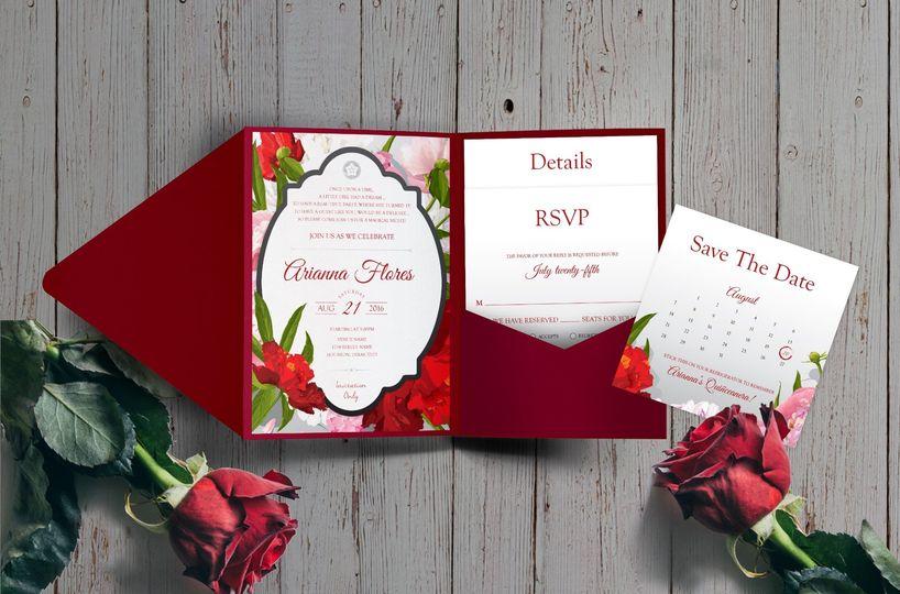 Hoopla Invitation Design