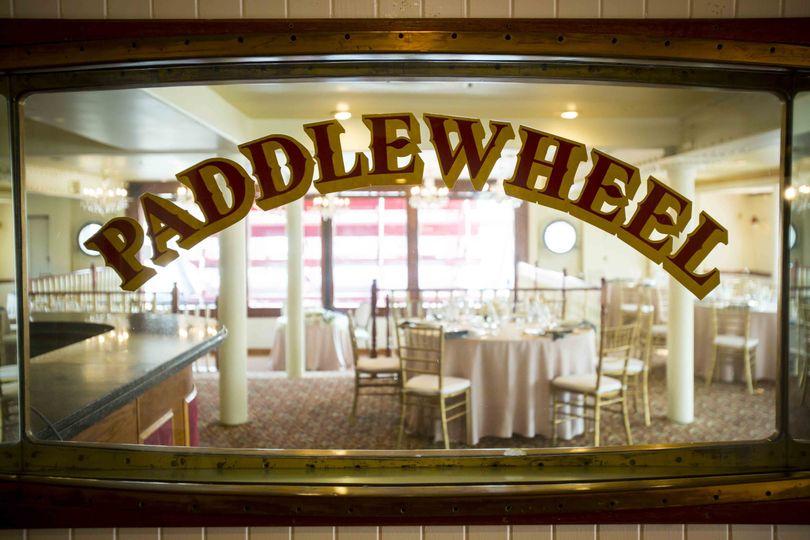 Paddlewheel saloon