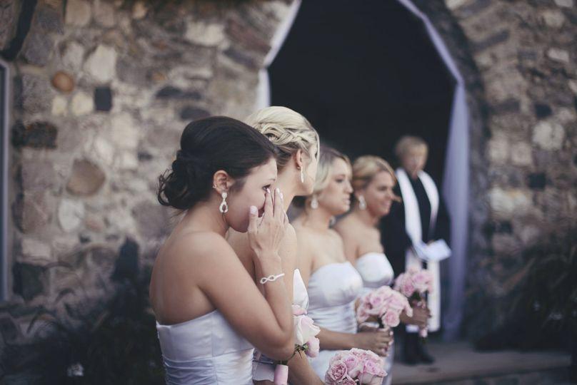 Bridesmaid tan