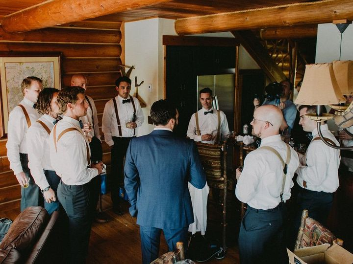 Tmx 1480365791696 Ampersand Bay Groomsmen In The Heron   Copy Saranac Lake wedding planner