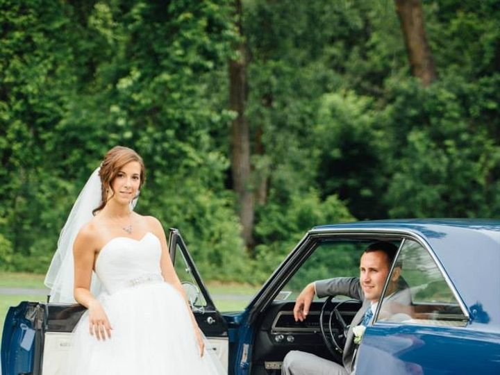 Tmx 1480366384963 Vanbee   Angie And Jordan The Car Saranac Lake wedding planner
