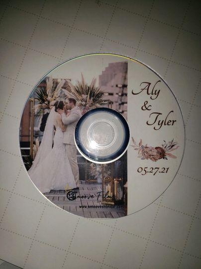 Customized DVD