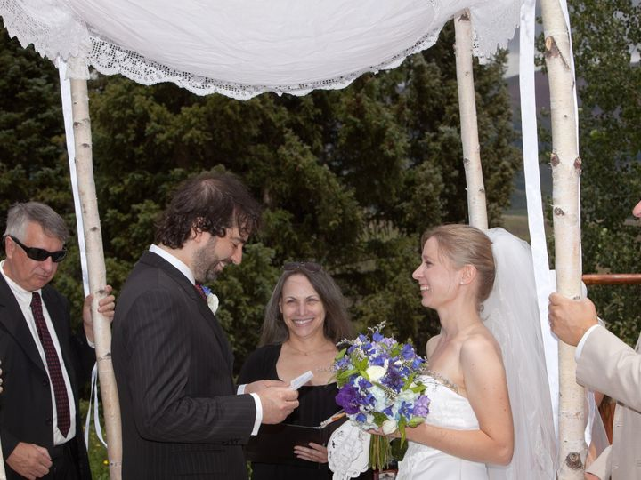 Tmx 1373820790606 Anna Lisa And Adam Wed Crested Butte 7.2012 Englewood wedding officiant