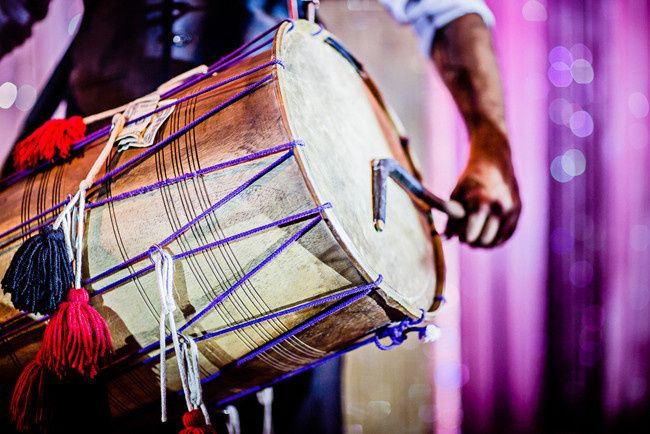 dhol player reception