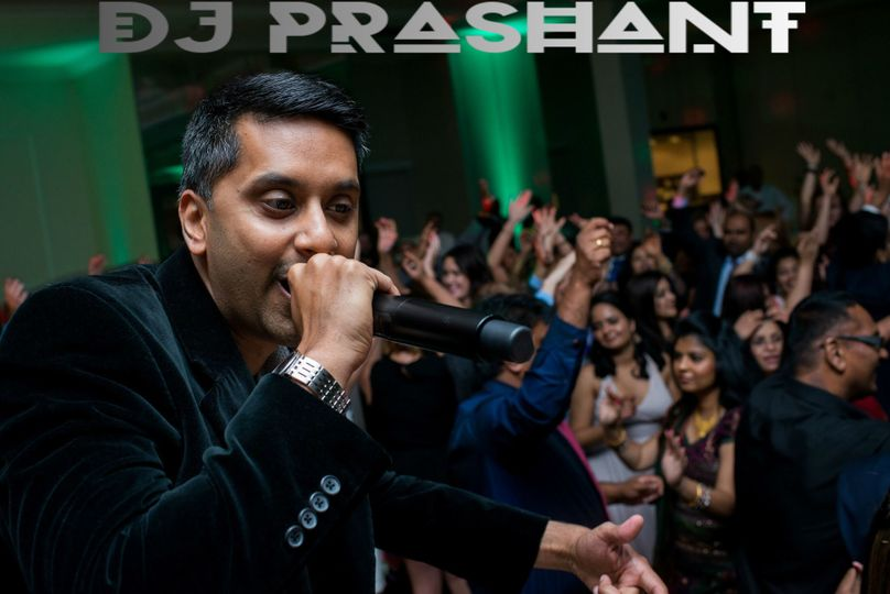 dj prashant on the mic new