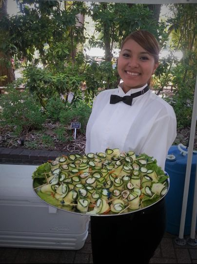 Cucumber Rolls with a smile