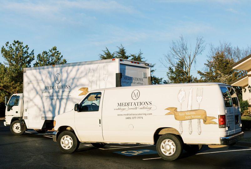Meditations Catering Vans