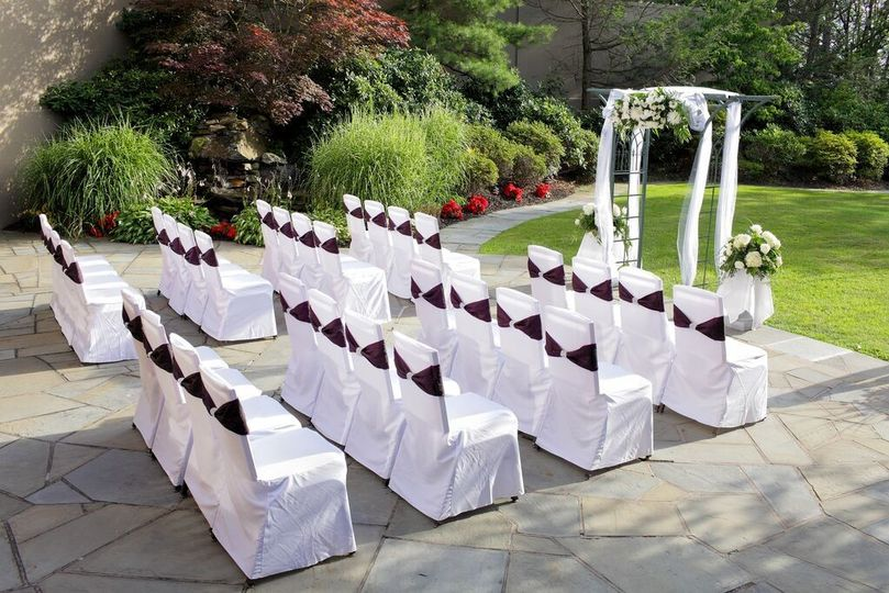 Ceremony Layout Towards Gazebo