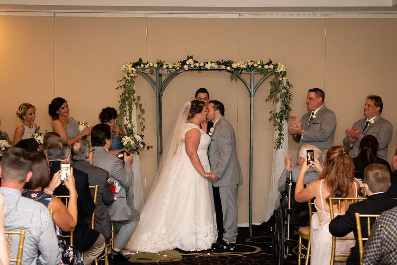 Indoor Ceremony Arch Design