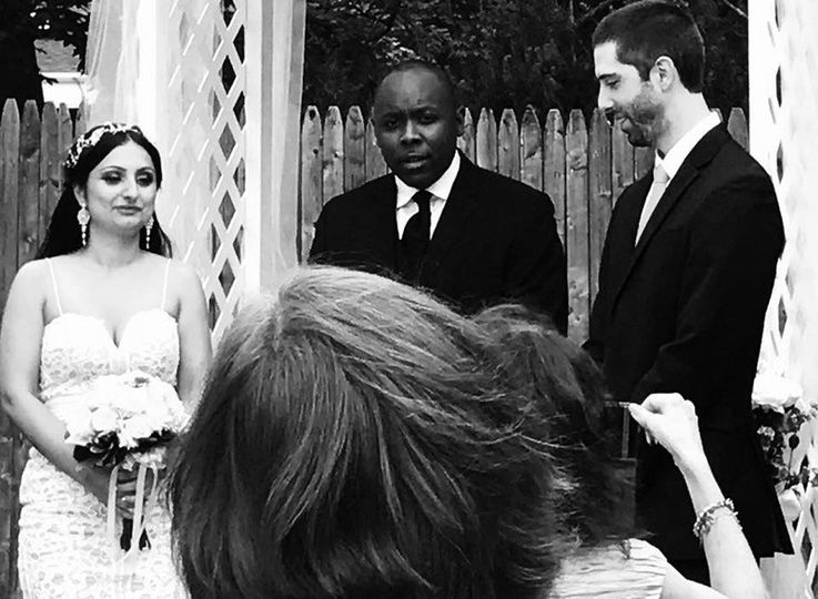 The Marriage Ceremony!