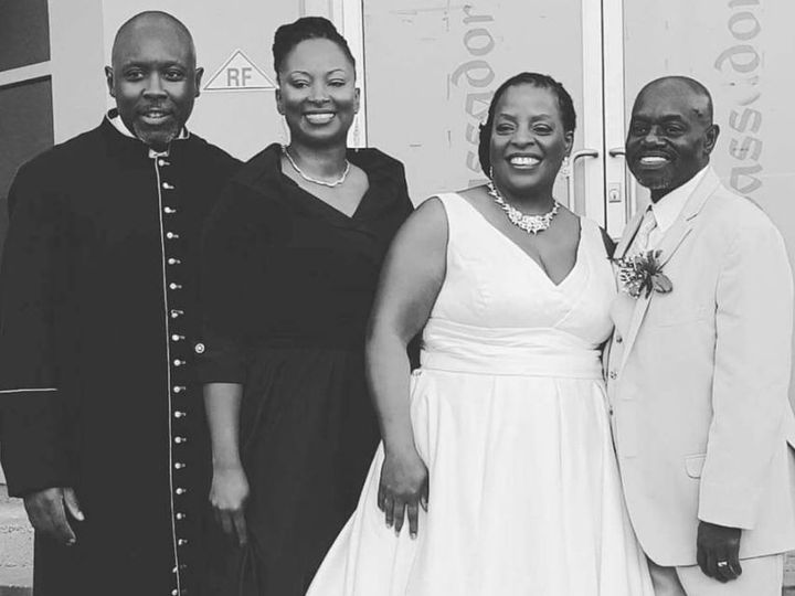 Tmx Me Maurice And Pastor First Lady At Our Wedding 51 1887077 1570748746 Windsor, NJ wedding officiant