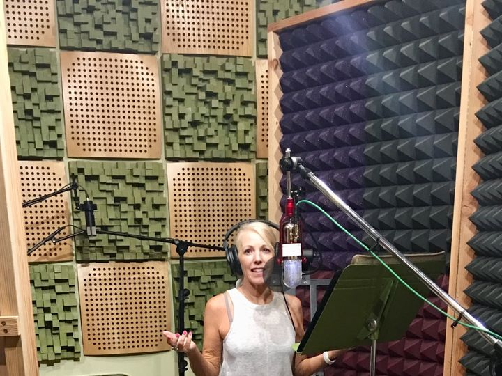 Tmx Singer And Bandleader Malea In The Recording Studio 51 1987077 160011992170533 Portland, OR wedding band