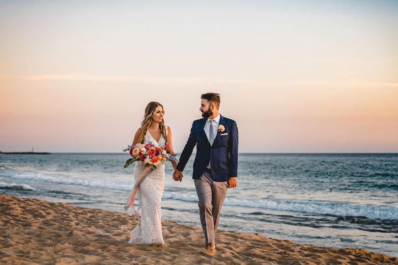 Santa Barbra Beach Wedding
