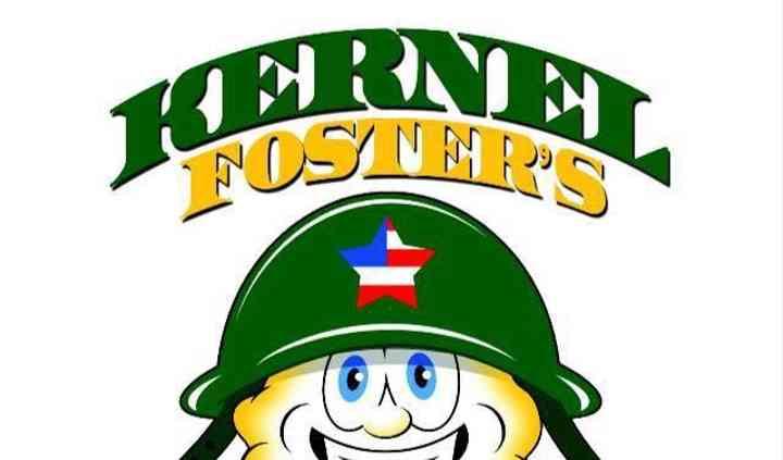 Kernel Foster's Gourmet Popcorn