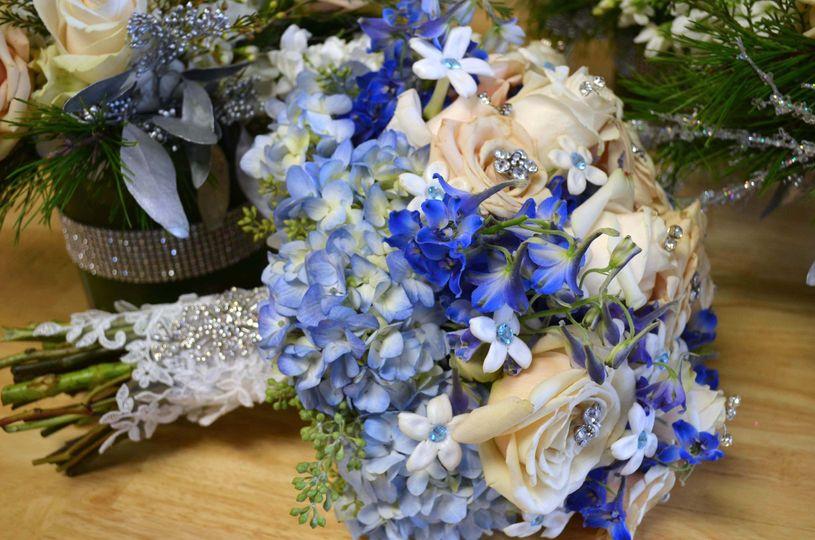 Blue themed