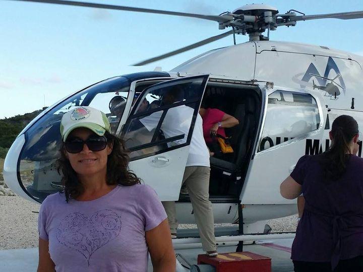 Tmx Ellie Helicopter Grand Turk 51 1029077 Crystal River, Florida wedding travel