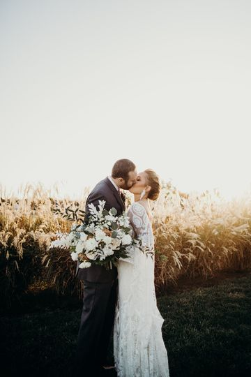 Couple Portrait in Tall Grass