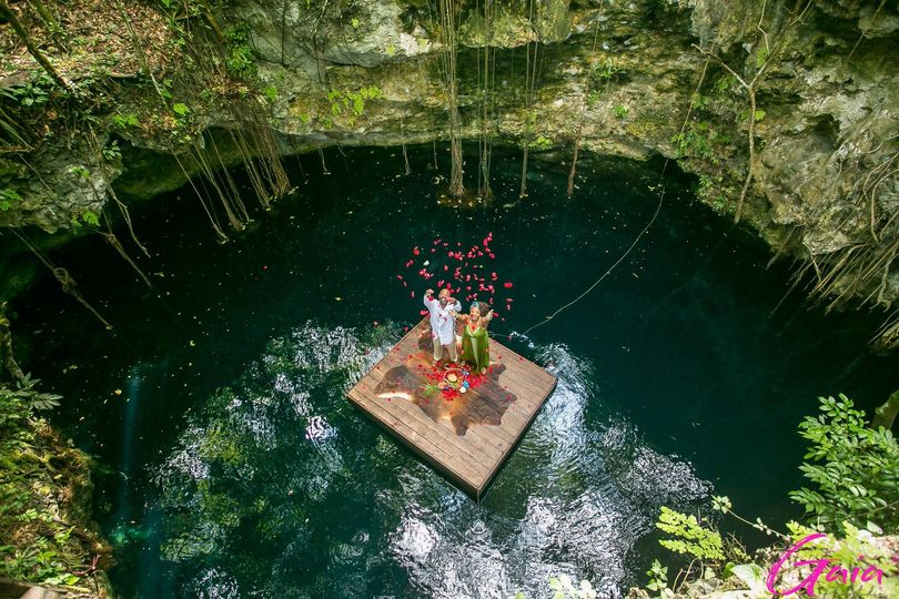 Mexico Cenote Wedding