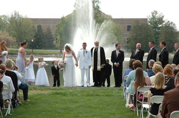 Sound provided for wedding ceremony