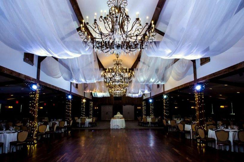 Grand Ballroom with drapery