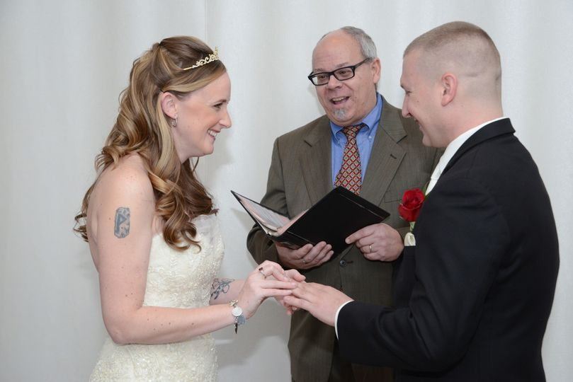 Wedding officiating services