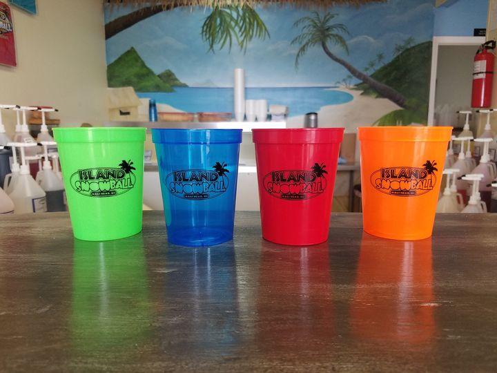 Logo cups