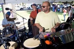 Sensory Expressions Band & Steel Drums (www.SensoryExpressions.com) or (www.GigMasters.com/islands)