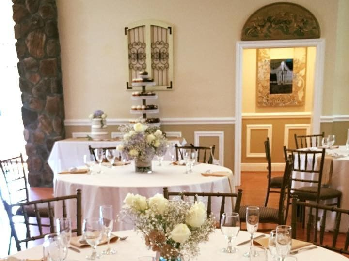 Tmx 1484081299367 Tablesetting Pottstown, Pennsylvania wedding venue