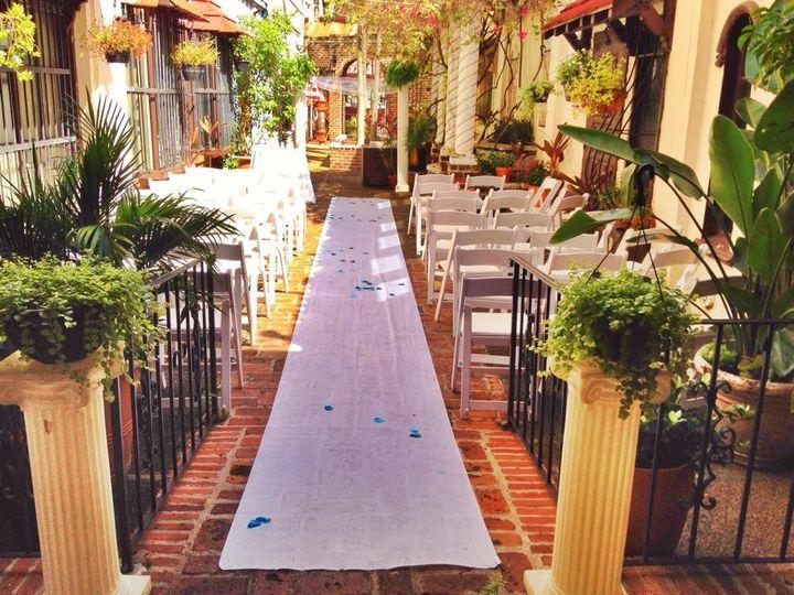 Tmx 1415827391194 Courtyard Fort Lauderdale, Florida wedding venue