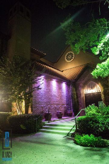 Wedding venue's entrance