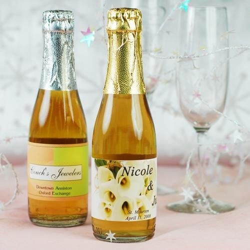 Personalized Sparkling Cider