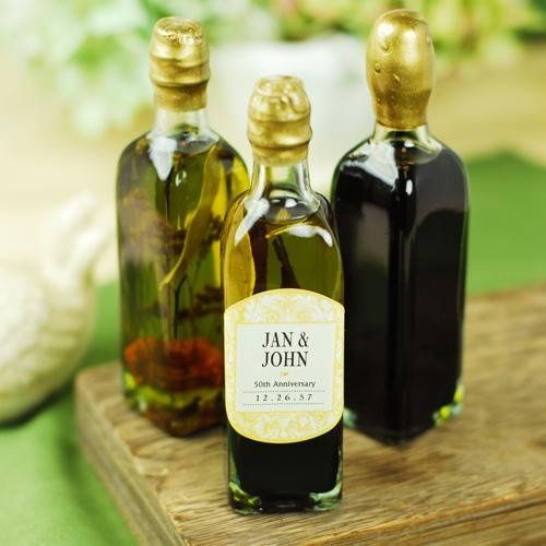 Personalized Olive Oil and Vinegar