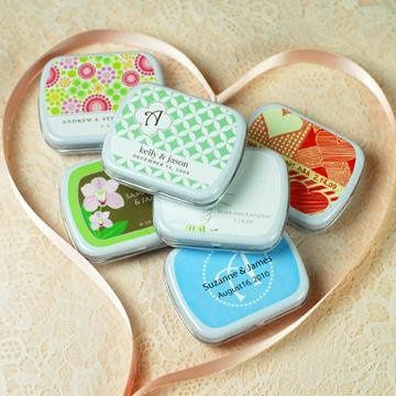 Exclusive Personalized Mint Tins