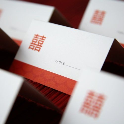 Tmx 1228877404124 Double Happiness Place Cards2 500 Mountain View, CA wedding favor