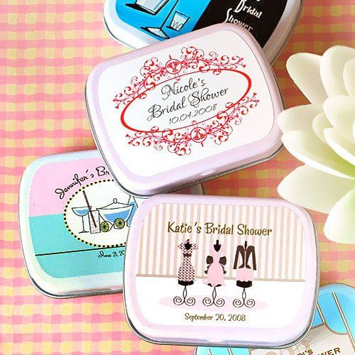 Tmx 1308000245078 Exclusivepersonalizedbridalshowerminttins500 Mountain View, CA wedding favor