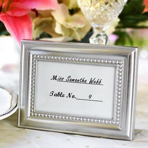 Tmx 1308000841829 Silverbeadedplacecardframes500 Mountain View, CA wedding favor